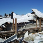 Boat Sheds Collapse in Maryland