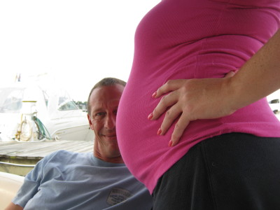 pregnant first mate boat