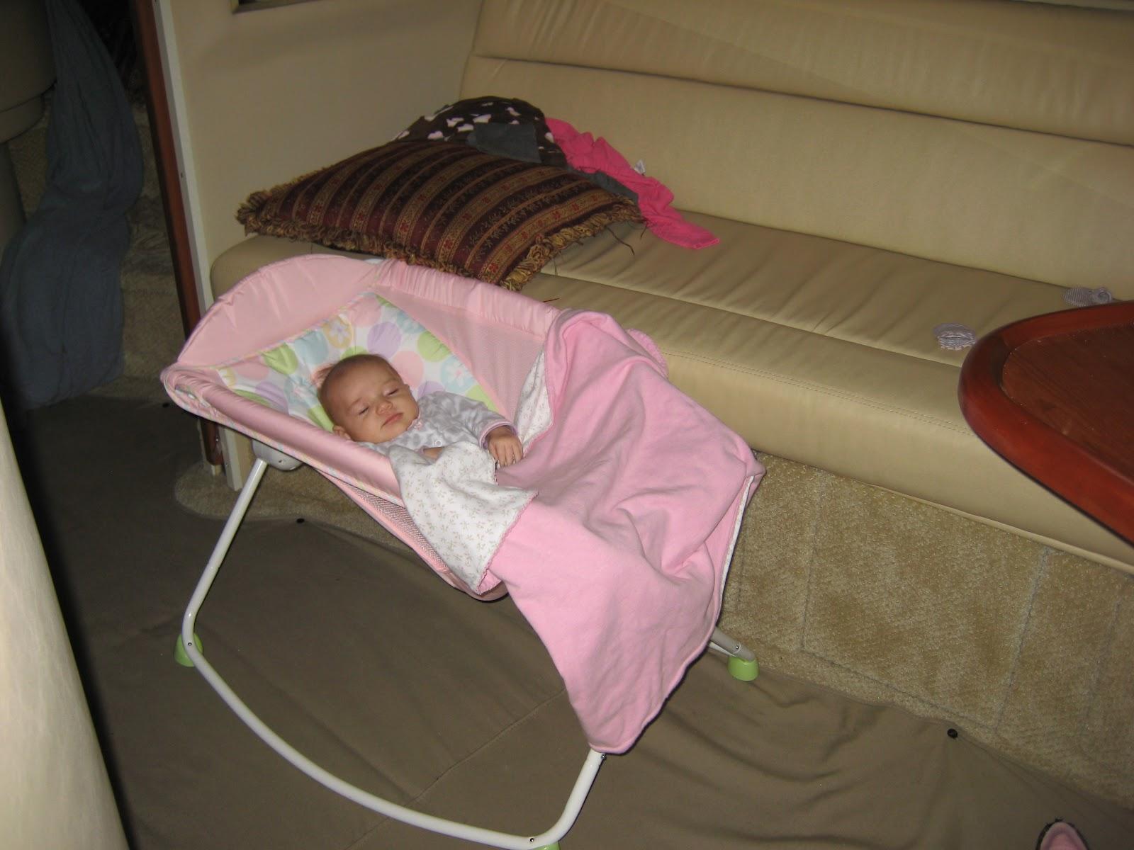 baby sleep boat