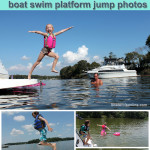 Tips for the Ultimate Boat Swim Platform Jump Photos