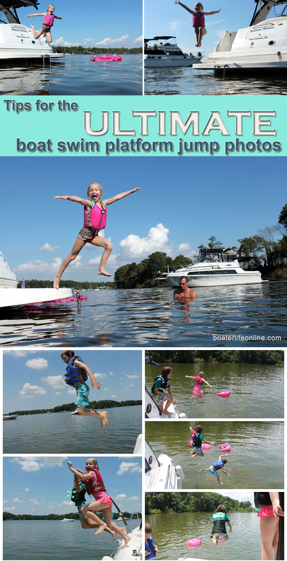 Boat Jump Photos Boaterlife My Boat Life
