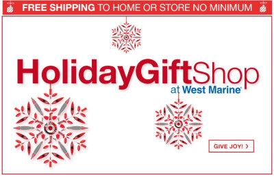 west marine holiday gift shop