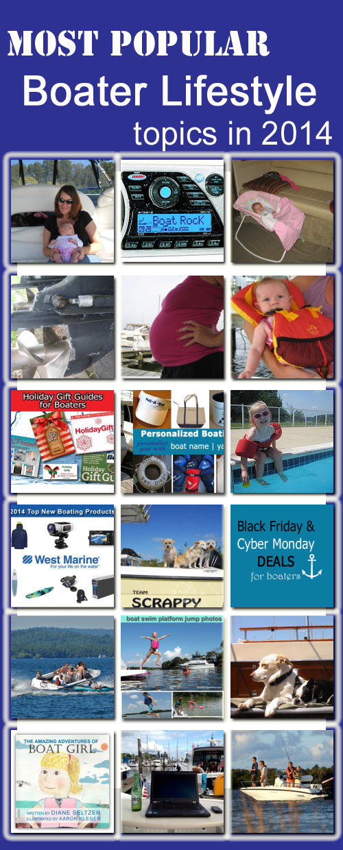 most popular boater lifestyle topics