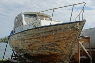 fix old boat