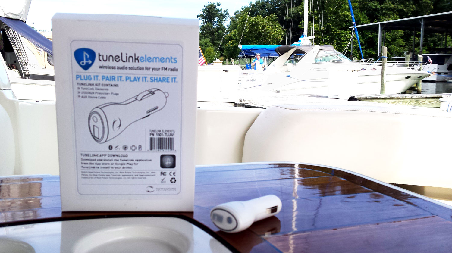 bluetooth streaming audio boat