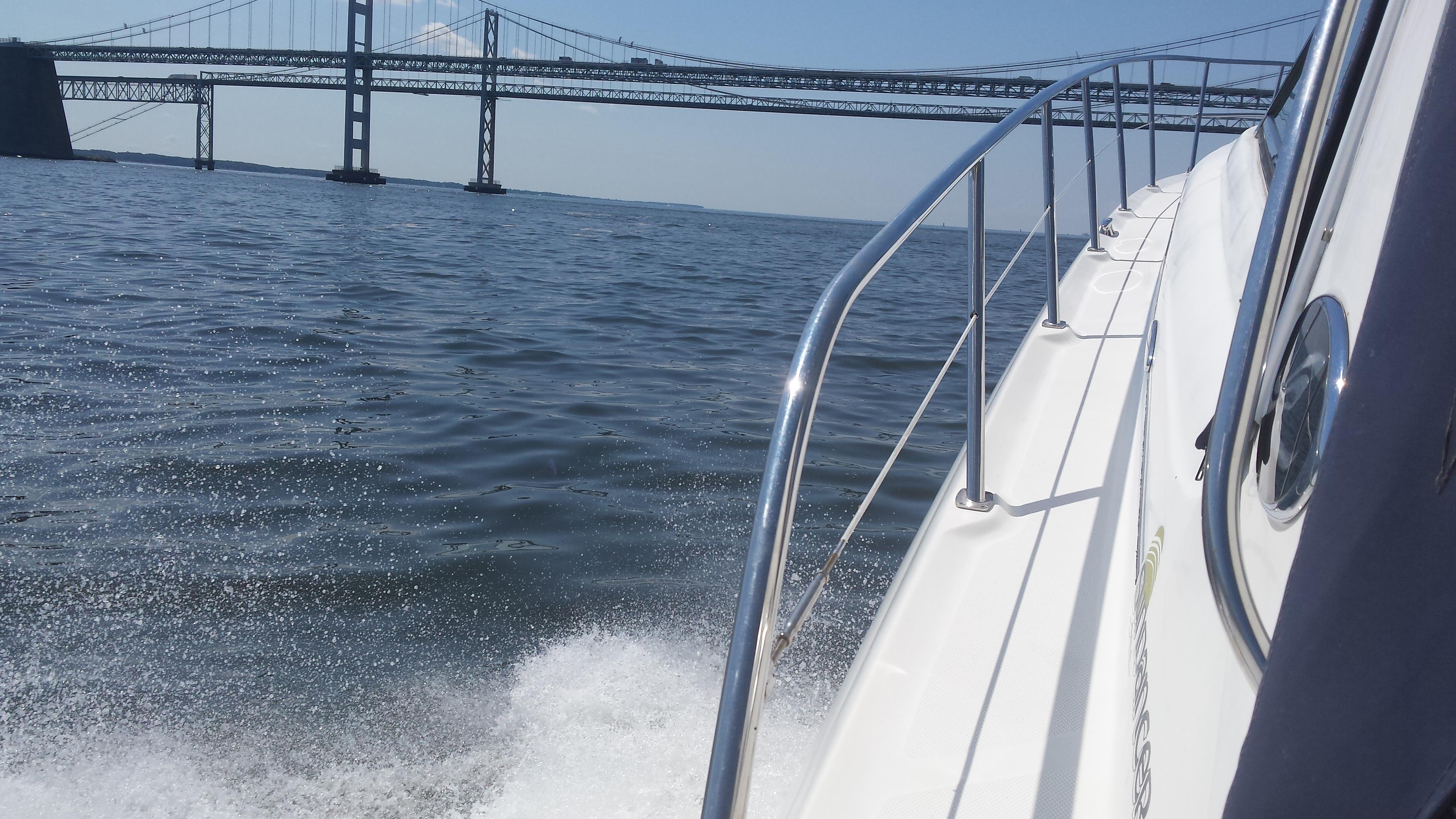 boat cruise Chesapeake Bay Bridge