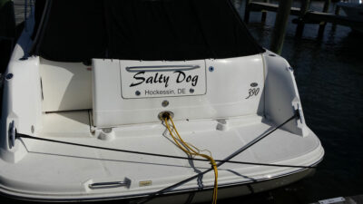 boat name salty dogs