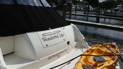 boat name wonderful life