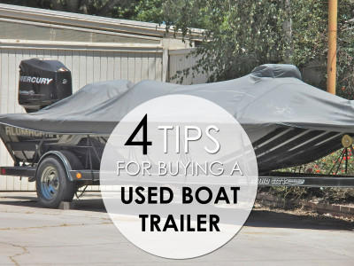 buying used boat trailer