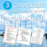 3 Checklists You Should Create for Your Boat