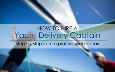 hire yacht delivery captain