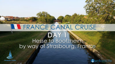 france canal cruise day 1