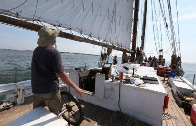 sailing AJ Meerwald