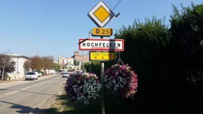 Entering Hochfelden