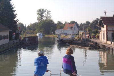 canal swing bridge