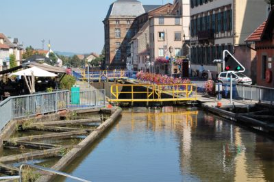 deepest canal lock