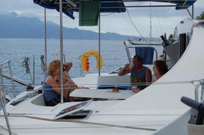 flotilla socializing