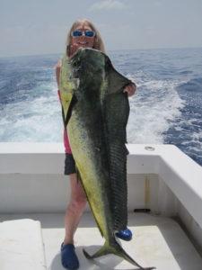 betty bauman fishing