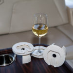 Boat Wine Glass Holders Turn Existing Cup Inserts into Stemware Holders