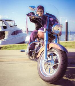 wanda kenton boating biker