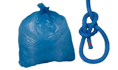 trash bowline knot