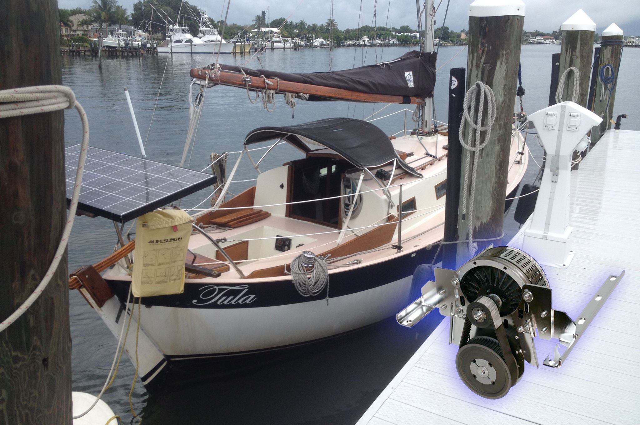 What S The Point Of An Electric Engine On A Sailboat My Boat Life
