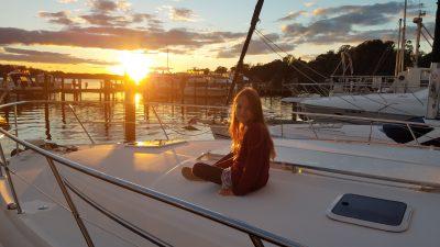 last sunset boating season