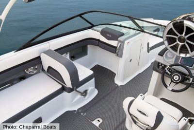 infinity on chaparral boats