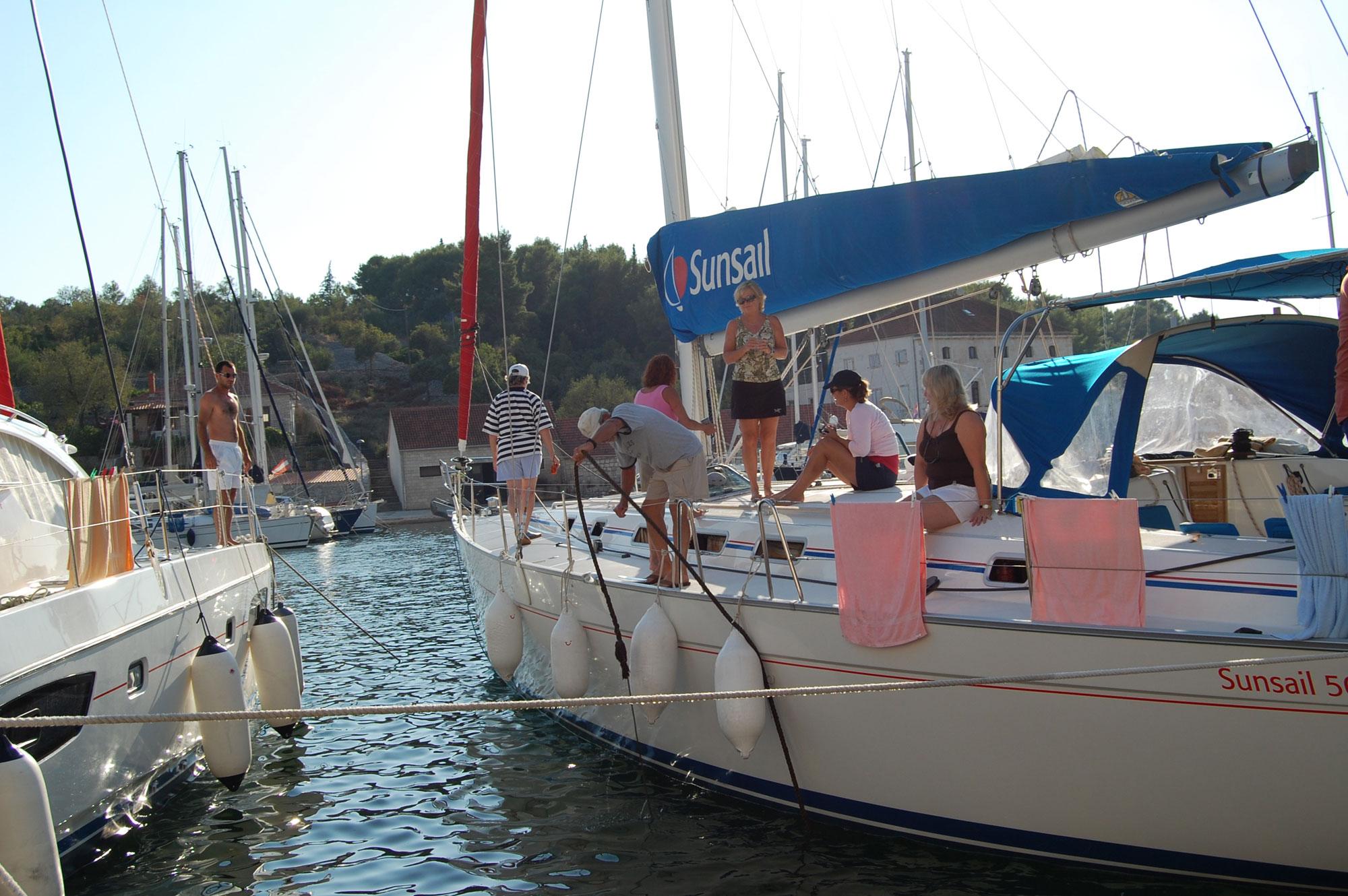rafting sailboats