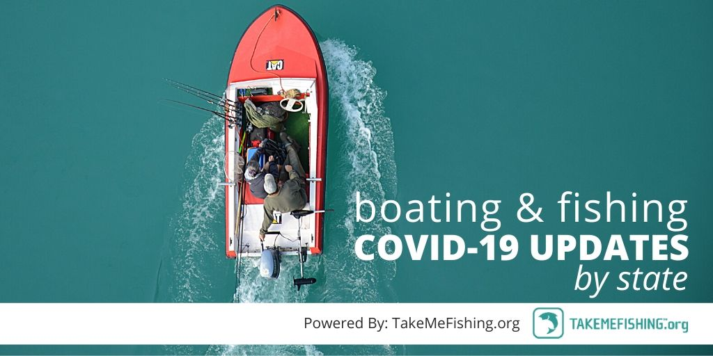 boating fishing covid-19