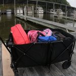 Heavy Duty and Collapsible Dock Cart for Your Boat