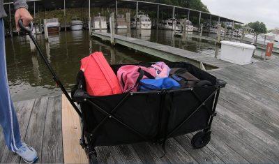 dock cart boat
