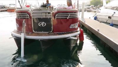 pontoon thruster