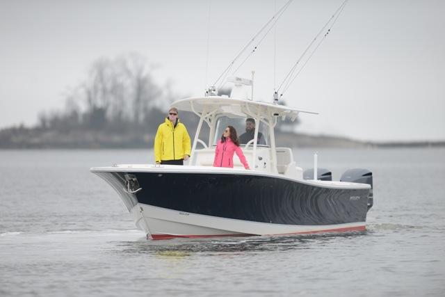 greenwich boat show sea trial
